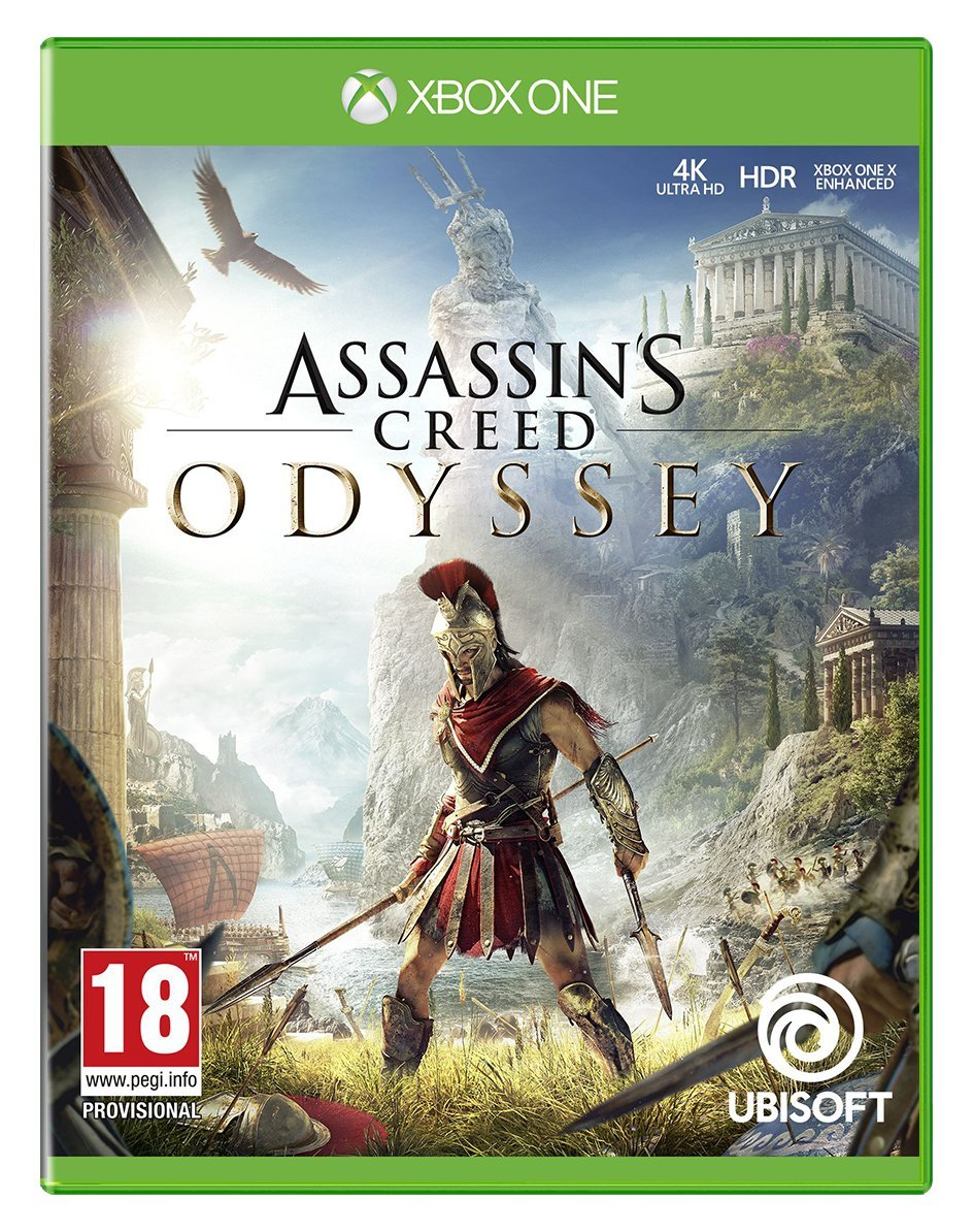 Assassin S Creed Odyssey Xb1 Ubisoft Xbox One Lightly Used