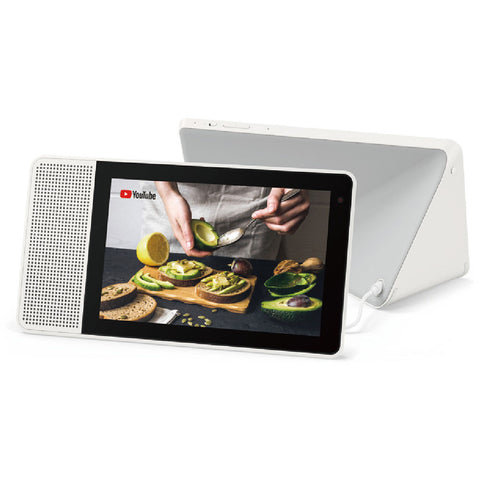 "Lenovo 8"" Smart Display (White and Soft-Touch Gray) ZA3R0001US"