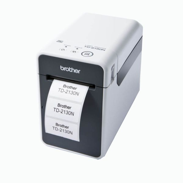 Brother TD2130N Compact 300dpi Desktop/Network Thermal Printer