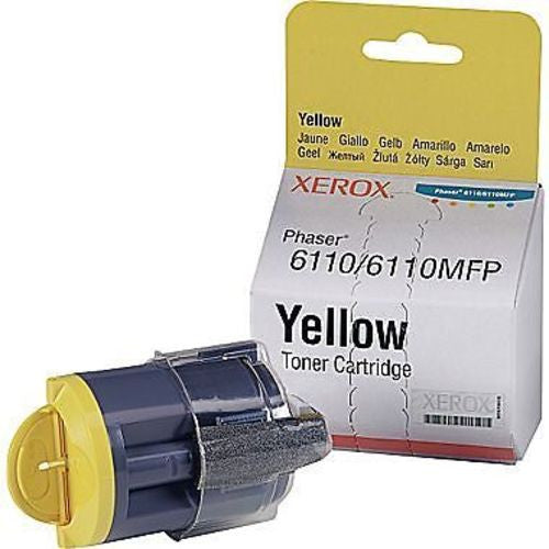 Xerox Toner Cartridge Yellow 6110/6110 MFP 106R01273