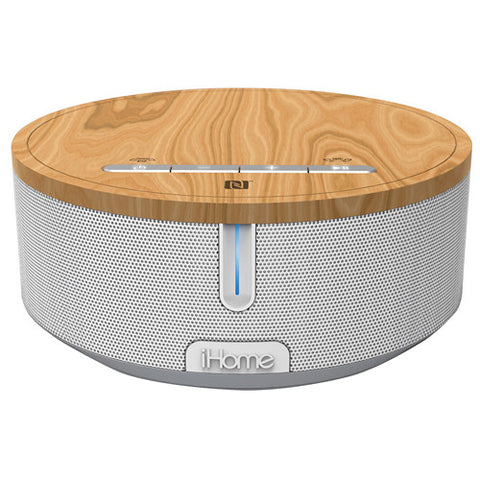iHome iBN26 Bluetooth Stereo Speaker System (White) iBN26WC