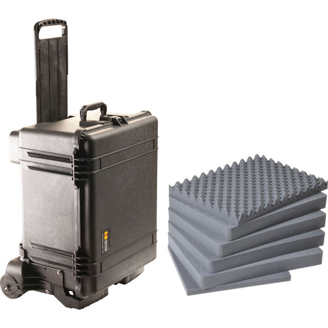 Pelican 1620M Case and Mobility Kit with Foam 016200-0009-110