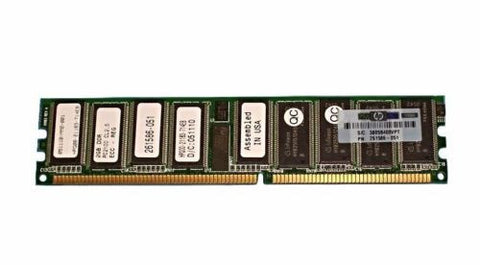 HP 2GB PC2100 Memory 1x 2GB ML350 G3 261586-051 2 Pieces