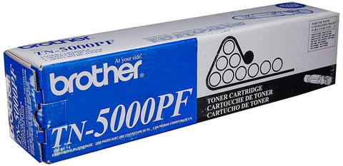 BROTHER TN5000PF TN5000PF Toner, 2200 Page-Yield, Black
