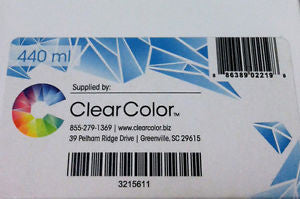 ClearColor R3000-BLK440  Black Solvent Ink Cartridge