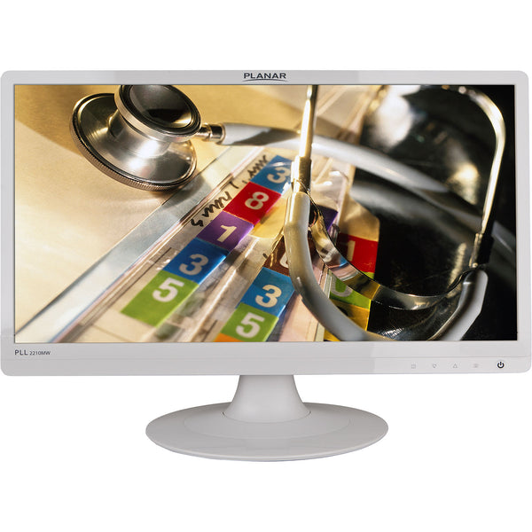 "Planar Systems PLL2210MW-WH 21.5"" 16:9 LCD Monitor (White) 997-6404-00"