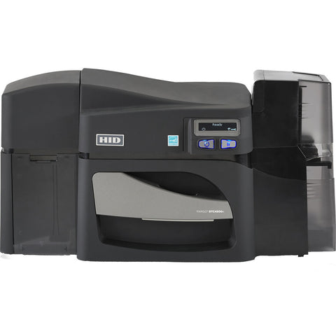 Fargo DTC4500e Dual-Sided ID Card Printer with ISO Magnetic Stripe Encoder 55110
