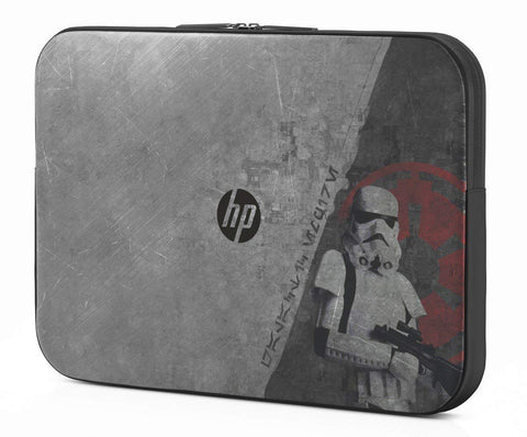 HP Star Wars Special Edition 15.6-Inch Storm Trooper Laptop Sleeve P3S09AA#ABC