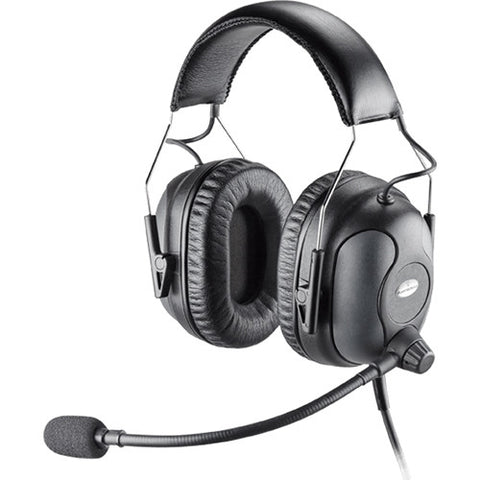 Plantronics PREMIUM RUGGEDIZED Headset- BINAURAL SHR 92638-01