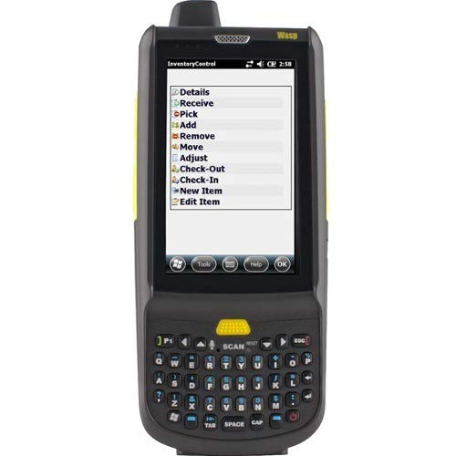 Wasp HC1 data collection terminal Win Embedded Handheld 6.5 512 MB 633808929008