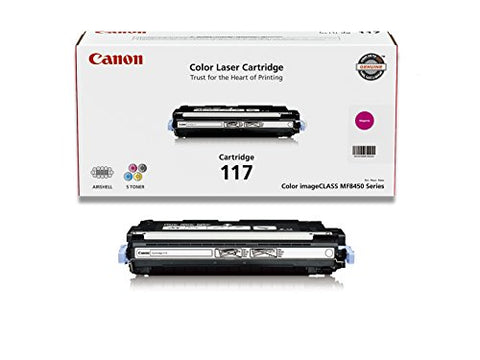 Canon Original 117 Toner Cartridge - Magenta 2576B001AA