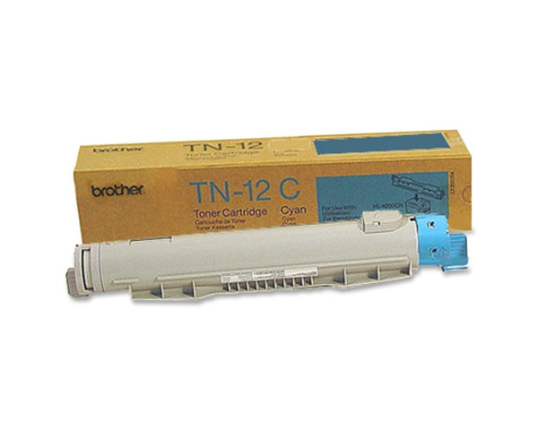 Genuine Brother TN-12C Cyan Toner Cartridge HL-4200