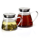 Fuji Glass Teapot with Filter (2 sizes)