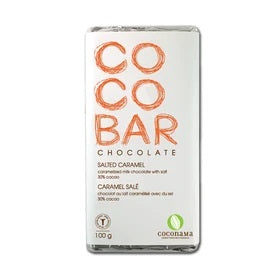 Coconama Chocolate - Salted Caramel (30%)