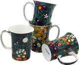 McIntosh - Klimt, Flower Garden (Set Of 4)