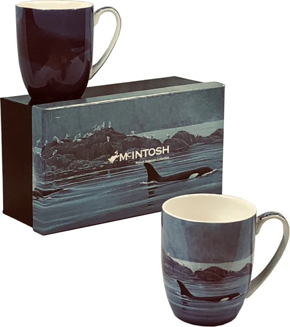 Batemand Orca Mug Pair