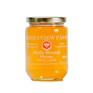 Honeyview Farm - Alfalfa Blossom Honey 500g