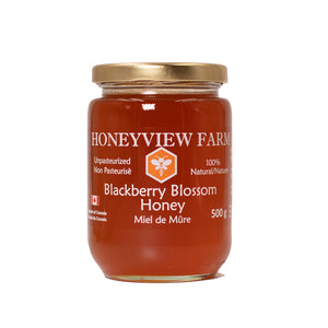 Honeyview Farm - Blackberry Blossom Honey 500g