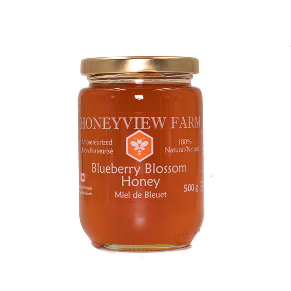 Honeyview Farm - Blueberry Blossom Honey 500g