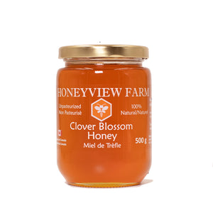 Honeyview Farms - Clover Blossom Honey 500g