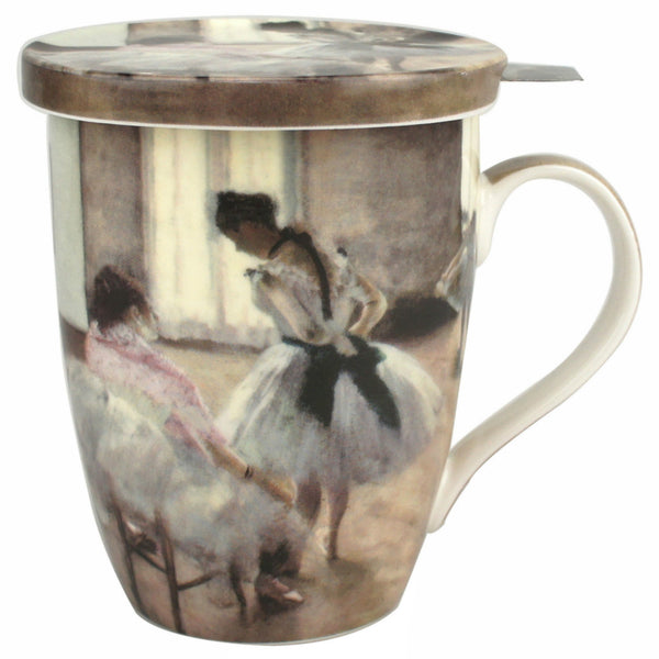 Degas The Dance Lesson Mug with Infuser
