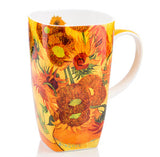 Van Gogh Sunflowers Mug Set