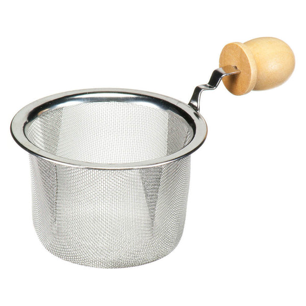 Strainer with Wood Handle