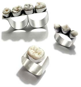 Amazing Jewelry Ring 14 - Rotten Teeth Rings