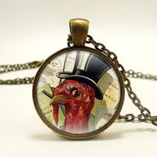 Thanksgiving Broach Turkey Top Hat