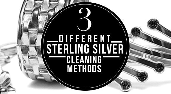 3 different silver cleaning methods