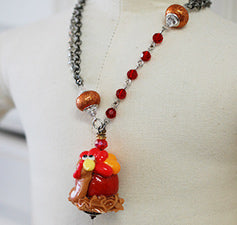 Ugly Jewelry Full Turkey Necklace