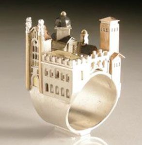 Amazing Jewelry Ring 32 - Jewish Wedding Castle Ring