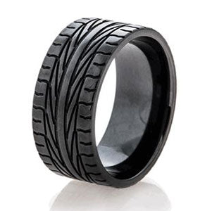 Amazing Jewelry Ring 35 - Tire Tread Ring