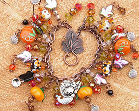 Thanksgiving Jewelry With Everything On It
