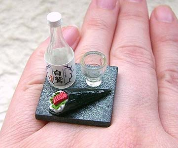 Amazing Jewelry Ring 6 - The Sushi Dinner Ring