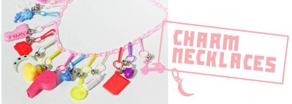 Charm Necklaces 80s jewelry trend