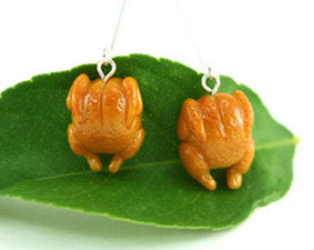 Roast Chicken Earrings
