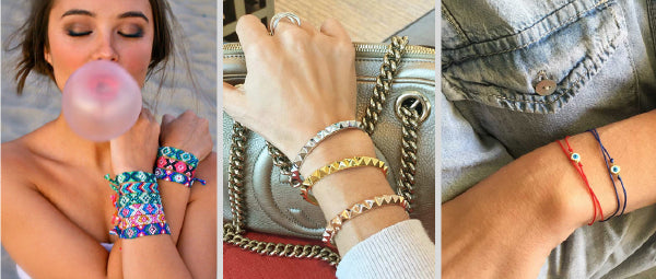 Boho Jewelry Arm Candy Bracelets