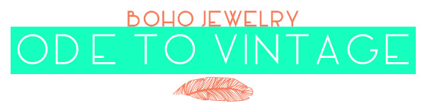 Boho Jewelry Ode to Vintage