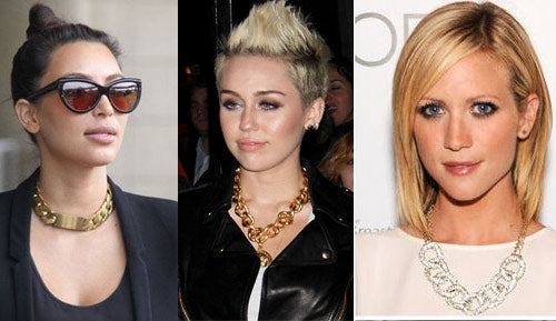 Chunky Chain Necklaces Trend Report