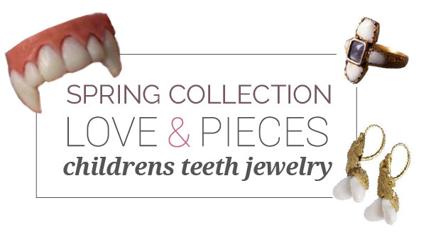Spring Collection Teeth Jewelry for Children