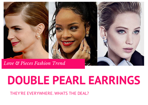 Double Pearl Earrings Trend Report