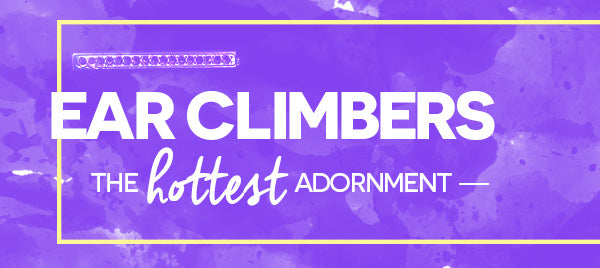 Ear Climbers: The Hottest Adornment