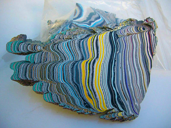 fordite stone unfinished