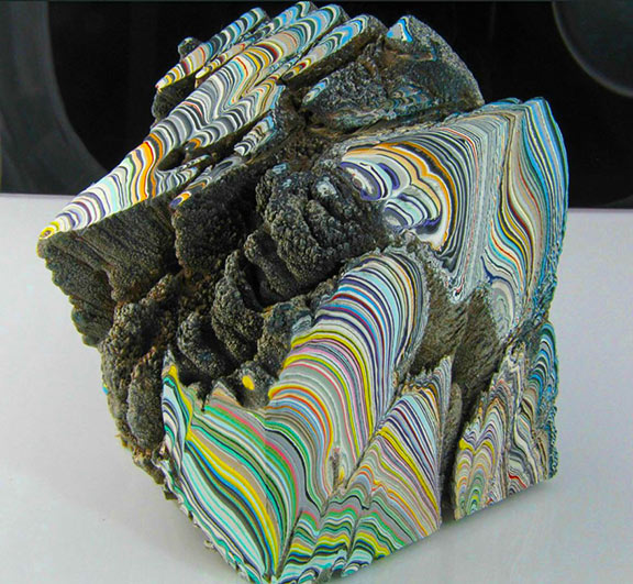 fordite jewelry unfinished stones