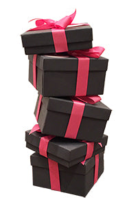 Stack of Jewelry Boxes - Free Gift Wrapping