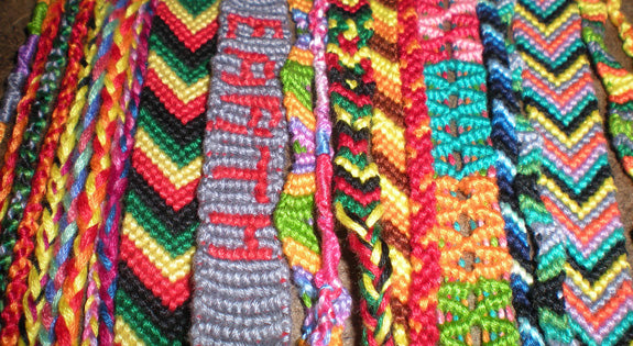 Friendship Bracelets Made with Love