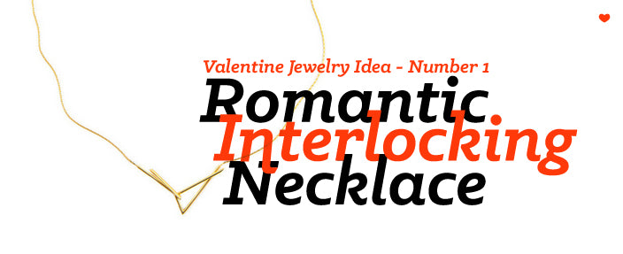 valentine jewelry idea romantic necklace