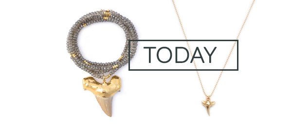 Shark Jewelry Tooth Trend
