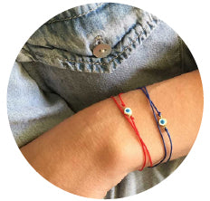 Simple Lucky Evil Eye Bracelet